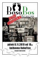 Akustický koncert skupiny BosoBos v knihovně. 1