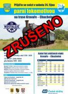 Projížďka parní lokomotivou - ZRUŠENO   1